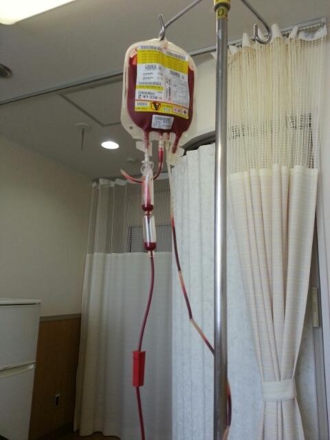 赤血球の輸血