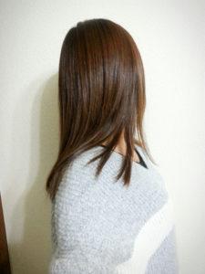 発毛状況・最後の抗がん剤から2年8カ月(1)