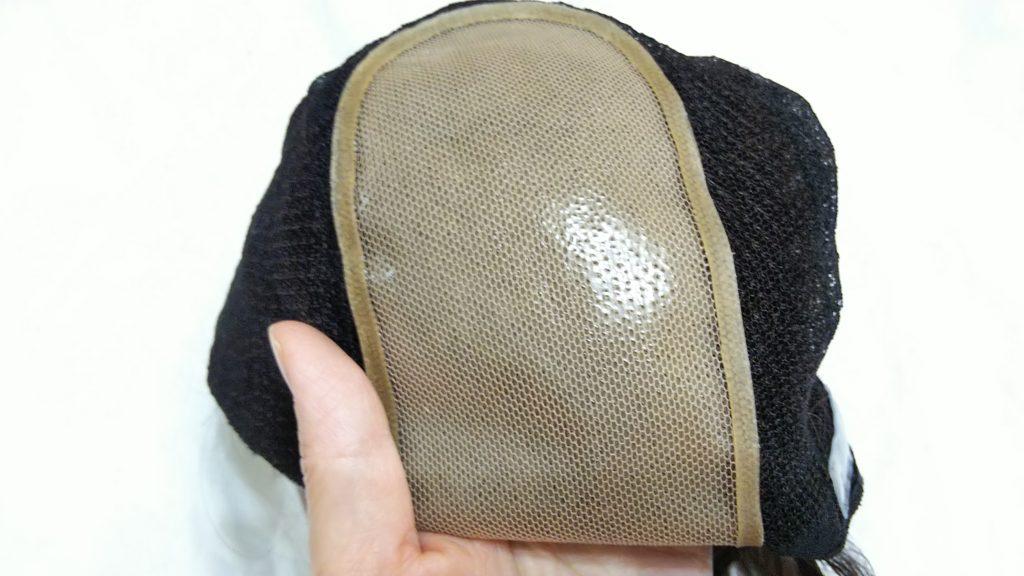 ウレタン樹脂製人工頭皮(裏側)